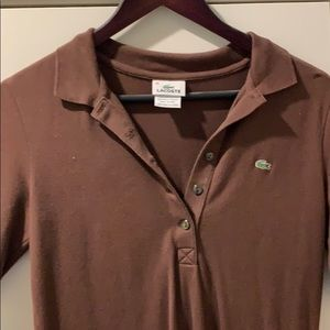Lacoste collared dress